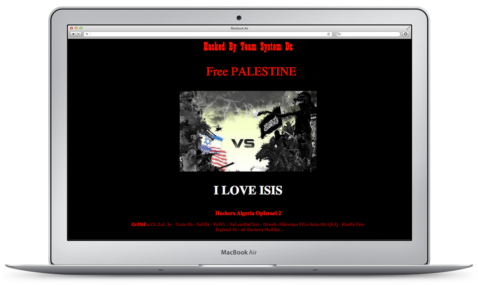 Website Defacement
