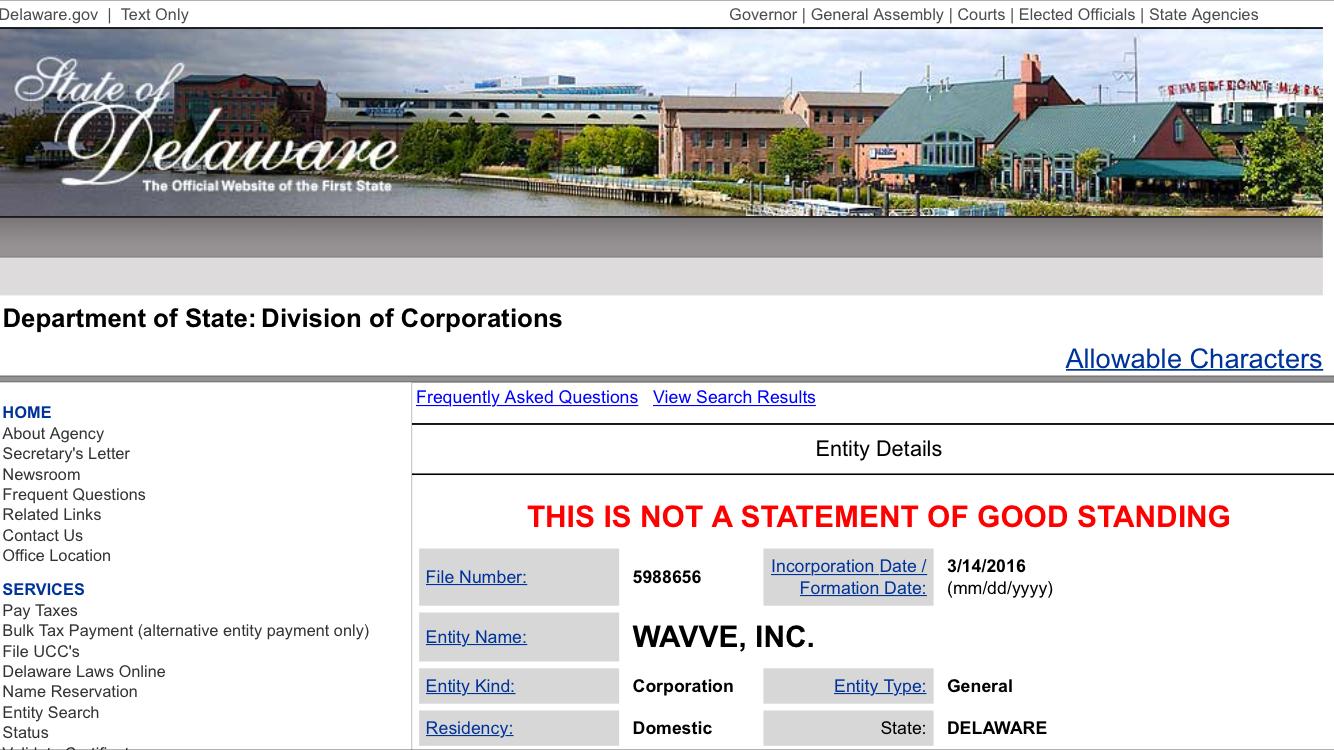 Wavve, Inc.