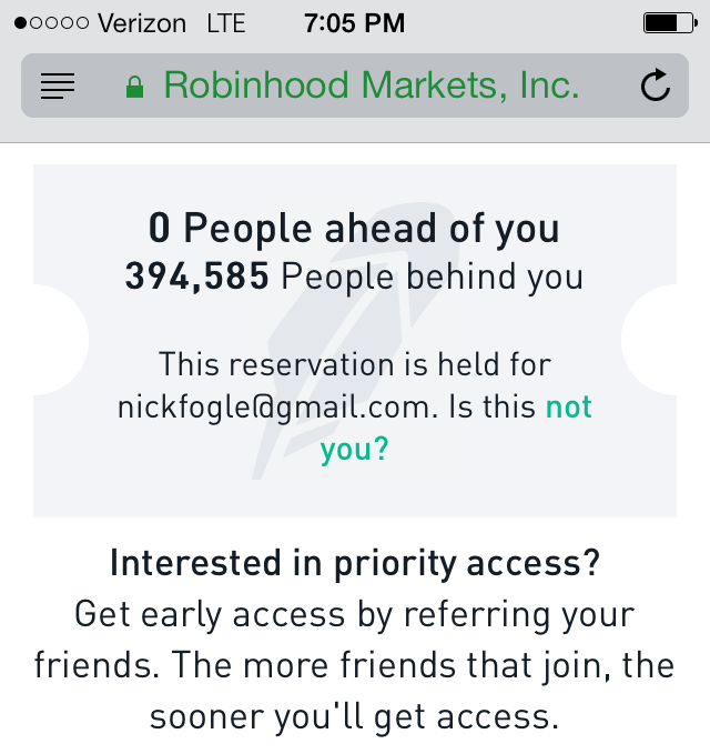 3 Weeks with Robinhood App Beta